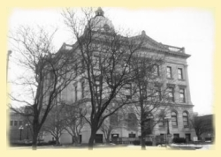 McLean County Courthouse from 1900 - 1976
